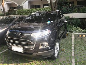 Selling Black Ford Ecosport 2016 at 46000 km