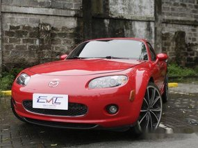Red Mazda Mx-5 2008 for sale in Quezon City