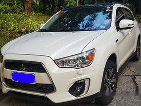 White Mitsubishi Asx 2014 Automatic for sale