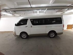 White Toyota Hiace 2015 Automatic for sale