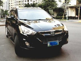 Black Hyundai Tucson 2011 Automatic for sale