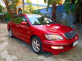 Red Mitsubishi Lancer 2003 Automatic for sale