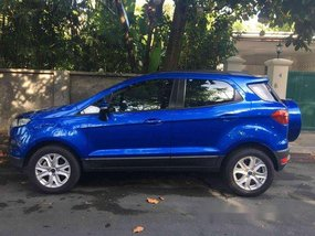 Sell Blue 2017 Ford Ecosport in Makati