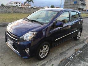 Selling Blue Toyota Wigo 2016 in Manila