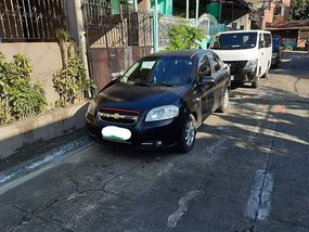 Sell Black 2007 Chevrolet Aveo at 31000 km