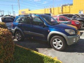 Blue Toyota Rav4 2001 for sale in Cavite
