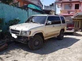 Silver Isuzu Trooper 1999 Automatic Gasoline for sale