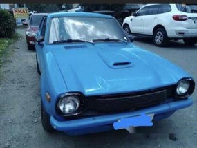 Blue Mitsubishi Lancer 1979 Manual for sale