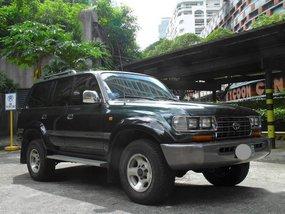 Green Toyota Land Cruiser 1997 for sale in Manila