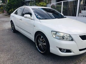 Sell White 2007 Toyota Camry in Quezon City