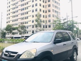 HONDA CR-V 2002 MANUAL