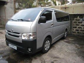Selling Silver Toyota Hiace 2016 in Manila