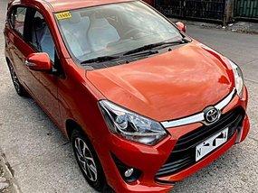 Selling Orange Toyota Wigo 2018 in Quezon City