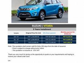 Brand New 2020 Suzuki Vitara in Pasig - WE CATER ALL BRANDS AND VARIANTS