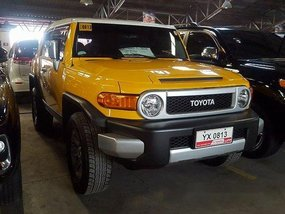 Toyota Fj Cruiser 2016 for sale in Makati