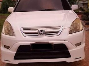 White Honda Cr-V 2003 for sale in Quezon City
