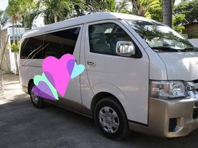 Sell 2014 Toyota Hiace in Consolacion