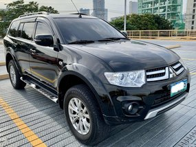 Black Mitsubishi Montero 2014 for sale in Manual