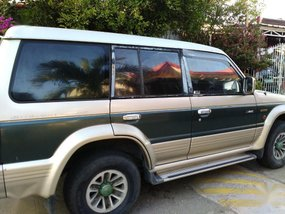 Sell Green 1996 Mitsubishi Pajero in Manila