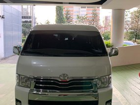 White Toyota Hiace 2016 for sale in Automatic