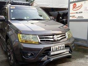 Grey Suzuki Grand Vitara 2015 for sale in Malabon City