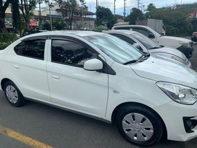 Selling White Mitsubishi Mirage g4 2015 in Pasig