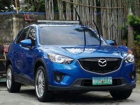 Selling Blue Mazda Cx-5 2012 in Manila