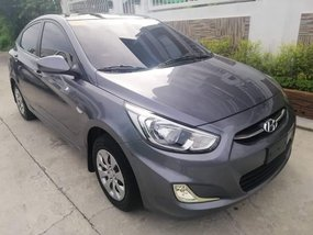 Grey Hyundai Accent 2017 for sale in Balagtas