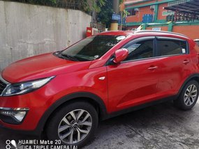 Red Kia Sportage 2014 for sale in Automatic