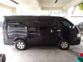 Black Toyota Hiace 2007 for sale in Manila