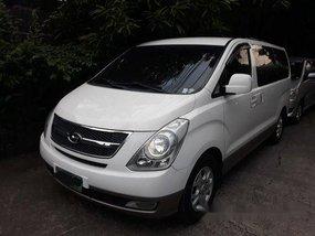 White Hyundai Grand starex 2014 for sale in Manila