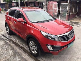 Red Kia Sportage 2012 for sale in Automatic
