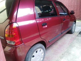 Red Suzuki Alto 2012 for sale in Manila