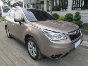 Sell Beige 2014 Subaru Forester in Pasig