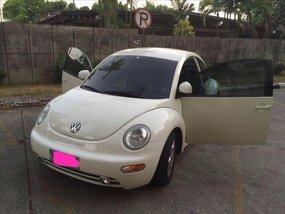 White Volkswagen Beetle 1998 for sale in Manila