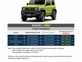 Brand New 2020 Suzuki Jimny - WE CATER ALL BRANDS AND VARIANTS