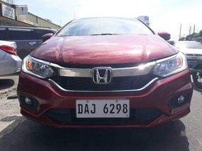 Red Honda City 2019 for sale in Manila