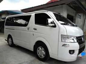 White Foton View 2018 for sale in Lipa