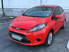 Selling Red Ford Fiesta 2014 in Quezon City