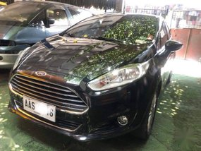 Black Ford Fiesta 2014 for sale in Automatic