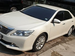 Sell White 2015 Toyota Camry in Manila