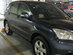 Black Honda Cr-V 2008 for sale in Mandaluyong