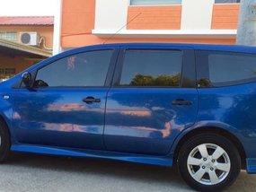 Blue Nissan Leaf 2012 for sale in Manual
