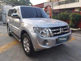 Silver Mitsubishi Pajero 2013 for sale in Manila