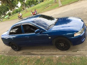 Blue Mitsubishi Lancer 1997 for sale in Automatic