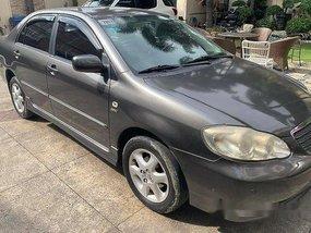 Sell Grey 2004 Toyota Corolla altis in Manila