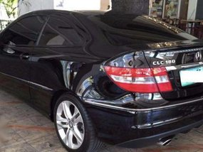 Black Mercedes-Benz CLC-Class 2011 for sale in Automatic