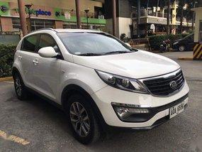 White Kia Sportage 2014 for sale in Makati