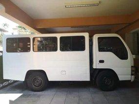 Sell White 2014 Isuzu Nhr in Quezon City