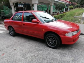 Red Mitsubishi Lancer 1996 for sale in Manila